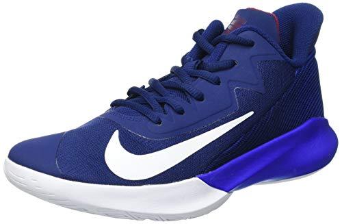 Nike Herren Precision Iv Basketballschuh, Blue Void/White-Racer...