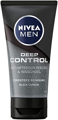 NIVEA MEN Deep Control Anti-Mitesser Peeling und Waschgel im 1er-Pack...