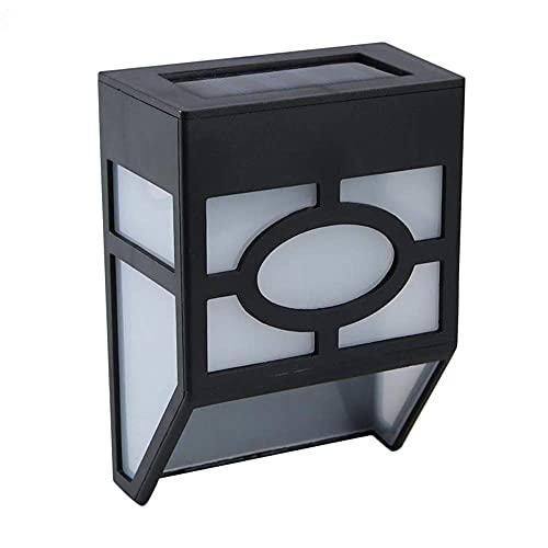 Yimiky Draussen Solar Wandleuchten 2 Stück, LED Solarleuchte...