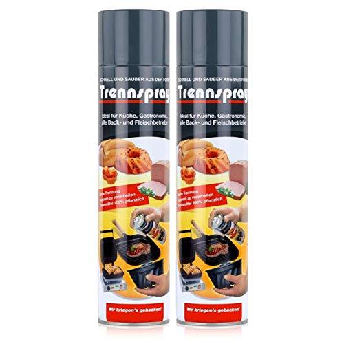 Boyens Trennspray 600ml Dose ( 2er Pack ) Trennfett Grillspray...