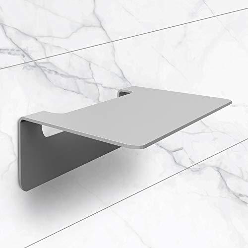 NX® Badablage ohne Bohren aus Edelstahl - selbstklebende Ablage fürs...