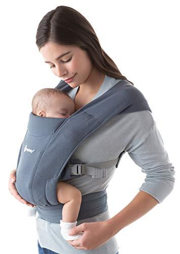 Ergobaby Embrace Babytrage für Neugeborene ab Geburt Extra Weich,...