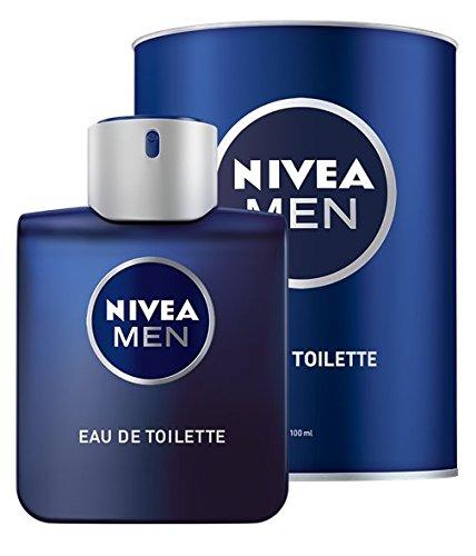 NIVEA MEN Eau de Toilette (1 x 100 ml) für jeden Tag in Parfum-Flakon...