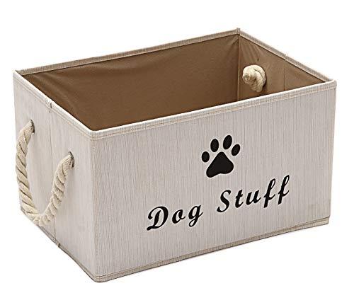 Morezi Haustier Spielzeug und Zubehör Aufbewahrungsbox mit Griff,...