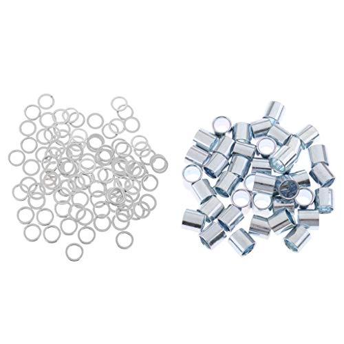 SM SunniMix Aluminiumlegierung Lager Spacer + Eisen Unterlegscheiben,...