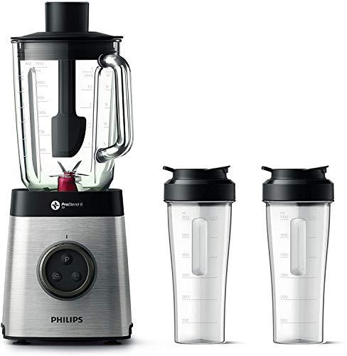 Philips HR3655/00 Standmixer (1400 Watt, ProBlend 6 3D Technologie, 2...