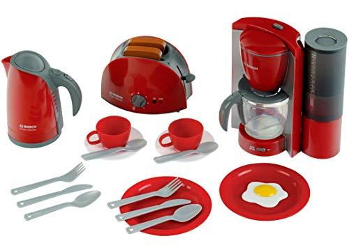 Theo Klein 9564 Bosch Frühstücksset I Küchen-Set bestehend aus...