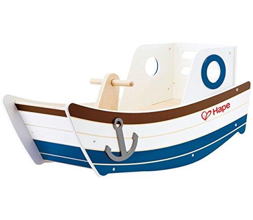 Hape E0102 Rocking Boat Toy (Multi-Colour) Wellenschaukler,...