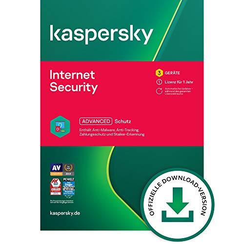 Kaspersky Internet Security 2021 | 3 Geräte | 1 Jahr |...