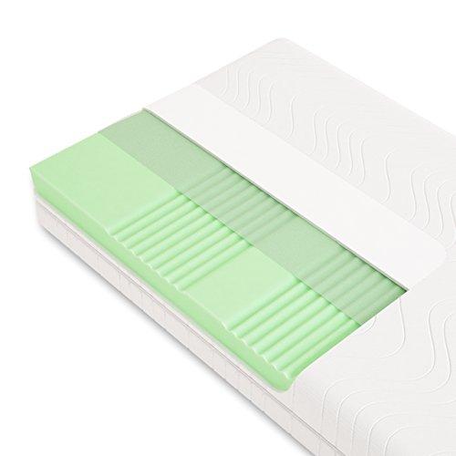 Schlummerparadies® hochwertige Matratze 7-Zonen HR-Kaltschaummatratze...