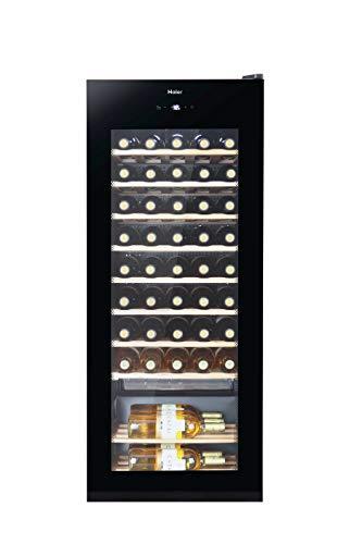Haier WS50GA Weinkühlschrank / 50 Flaschen / 127 cm Höhe / UV-Schutz...
