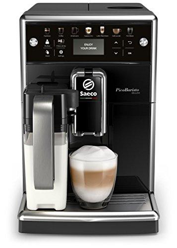 Saeco PicoBaristo Deluxe SM5570/10 Kaffeevollautomat, 12...