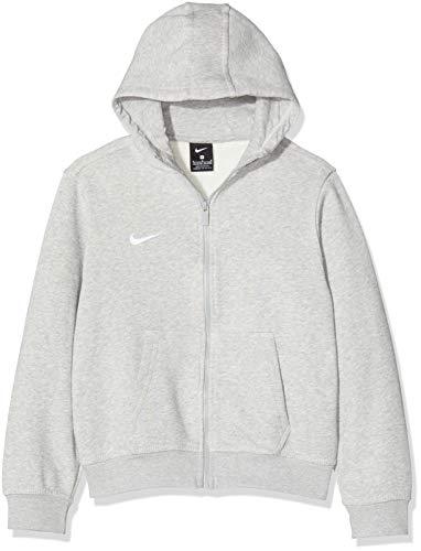 Nike Kinder Sweatshirt Team Club Full Zip Kapuzenjacke,Grau (Grey...