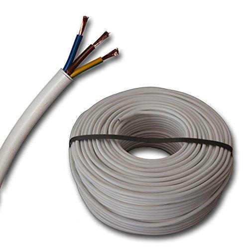Kunststoff Schlauchleitung rund Kabel Leitung Gerätekabel H05VV-F...