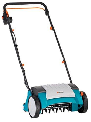 Gardena Elektro-Vertikutierer EVC 1000: Rasenlüfter mit Arbeitsbreite...