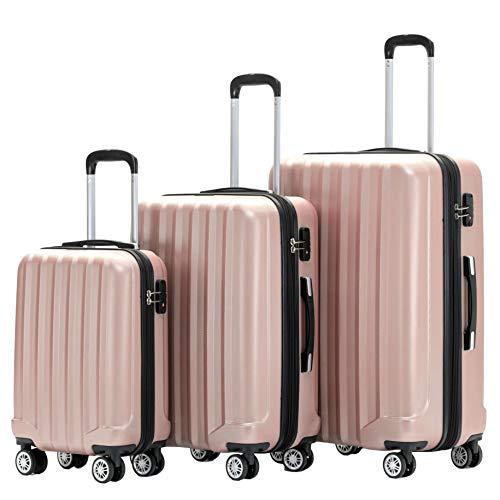 BEIBYE TSA-Schloß 2080 Hangepäck Zwillingsrollen neu Reisekoffer...