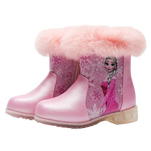 Aishangyide Mädchen Prinzessin Schneestiefel ELSA Stiefel Kinder...