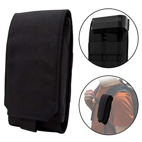 Clakit Outdoor Handy-Tasche mit Klemmhalterung Rucksack 8,5x16cm...