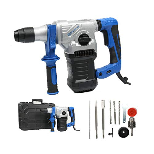 Bohrhammer mit SDS Plus Aufnahme 1500W Abbruchhammer mit 360...