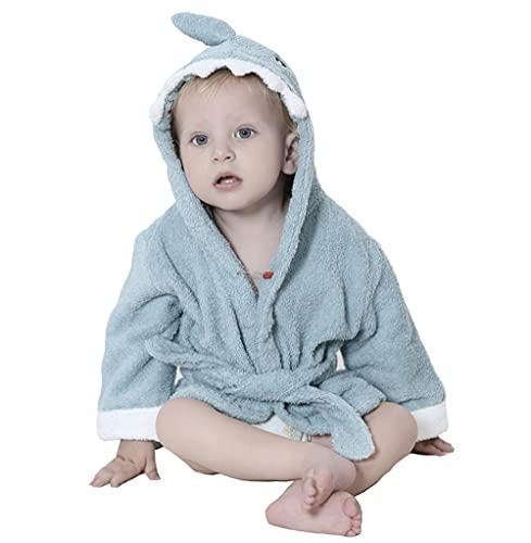 Frottee Bademantel Kinder 100 % Baumwolle Für Neugeborene 0-12 Monate...