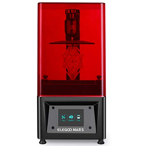ELEGOO Mars UV LCD 3D Drucker mit 3,5 Zoll Smart Farbtouchscreen...