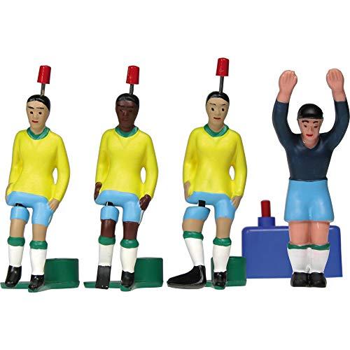 TIPP-KICK WM Classics Weltmeister Brasilien 1970 Spieler-Set Kicker,...