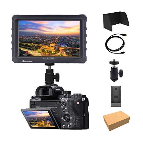 Schwarz Lilliput A7s 7 Zoll 1920x1200 HD IPS Camera Field Monitor...