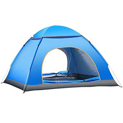 YUANJ Pop up Zelt, 3-4 Personen Ultraleichte Camping Zelt,...