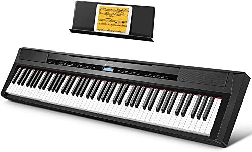 Donner Klavier Digitalpiano 88 Tasten, Hammermechanik Gewichteten, E...