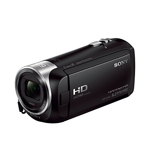 Sony HDR-CX405 Full HD Camcorder (30-fach opt. Zoom, 60x...