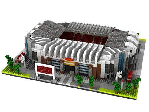 Atomic Building Manchester United Old Trafford Stadion. Modell zum...