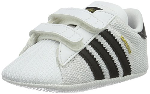 adidas Unisex Baby Superstar Crib Krabbel- & Hausschuhe, Weiß...