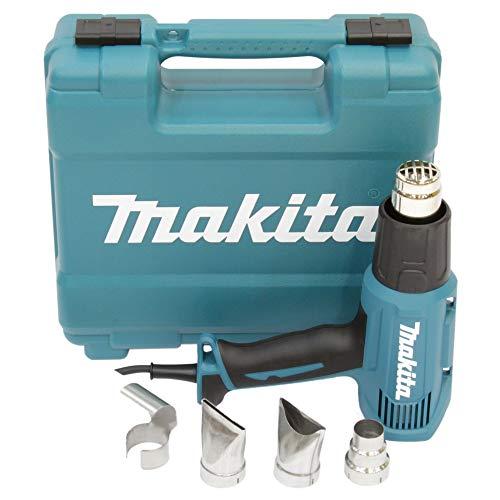 Makita HG5030K Heißluftgebläse Kit 1.600 W, 240 V, Schwarz, Blau,...