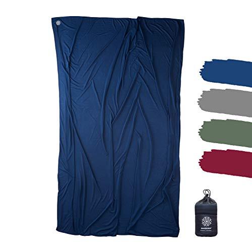 Bahidora Reisedecke. 200x150cm. Ultraleichte dünne Decke aus Coolmax...