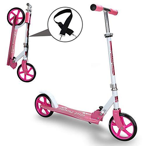 Kinderroller klappbar Höhenverstellbar Big wheels Mädchen und Junge...