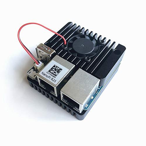 Elektronisches Zubehör schwarze Aluminium-Legierung Metall...