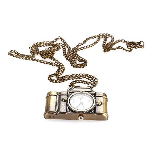 Rosepoem Fob Taschenuhr Kamera Uhr Retro Personalisierte Taschenuhr...
