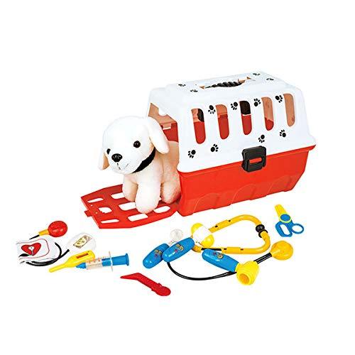 Toi-Toys 37151A - Plüschtier Hund mit Transportkoffer und...