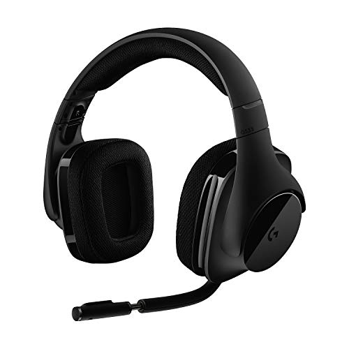 Logitech G533 kabelloses Gaming-Headset, 7.1 Surround Sound, DTS...