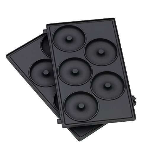 WMF LONO Snack Master Zubehör, Donut Platten-Set, 2 abnehmbare...