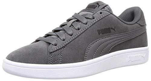 PUMA Unisex Smash v2 Sneaker, Grau (Castlerock Black-White), 42 EU