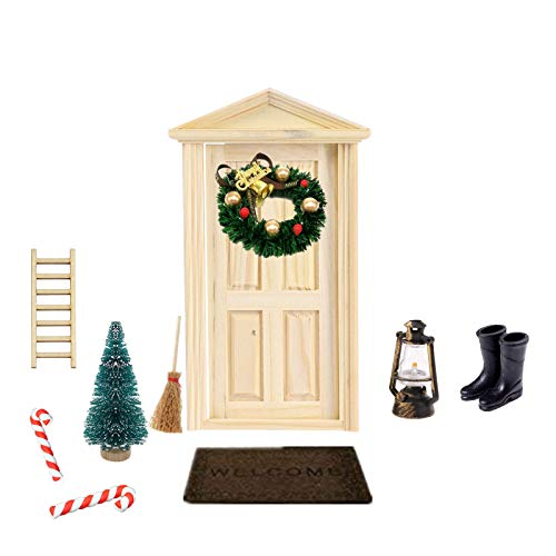 Super Idee Wichteltür Weihnachten Set Miniatur Wichtel Set Wichtel...
