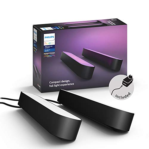 Philips Hue White and Color Ambiance Play Lightbar 2-er Pack, schwarz,...