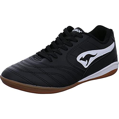 KangaROOS Herren K-Yard 3021 B Sneaker, White/Jet Black 0500, 44 EU