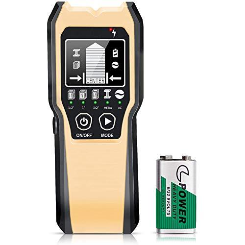 Ortungsgerät, 5 in 1 Multifunktions Wand Scanner Detektor Stud Finder...