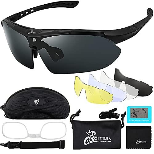Sportbrillen Fahrrad Brillen Damen Herren Polarisierte UV400 Schutz...