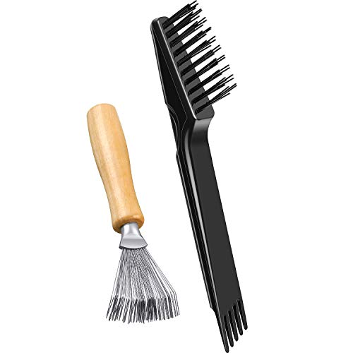 2 Stück Haarbürsten Reinigungswerkzeug Kamm Reinigungsbürste Kamm...