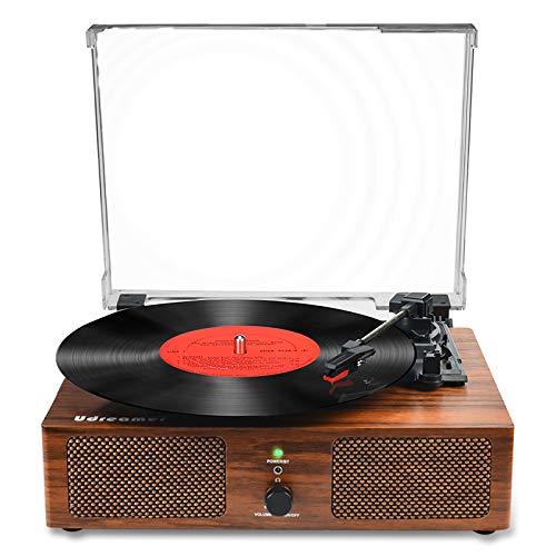 Vinyl Plattenspieler Bluetooth Plattenspieler mit eingebauten...
