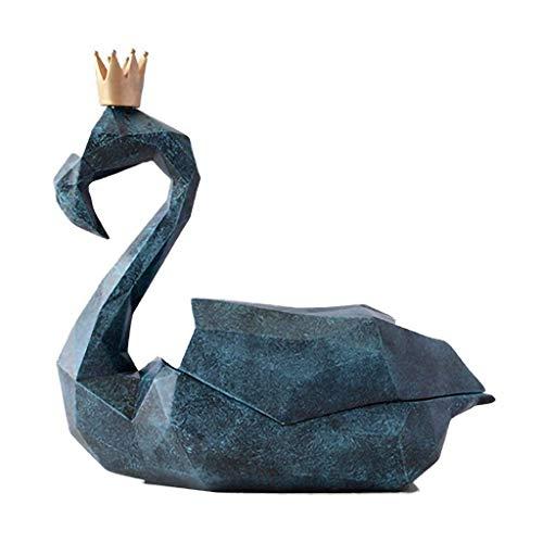 ZLBYB FlamingoOrnament Kunst Figurine for Haupthochzeits-Dekoration,...