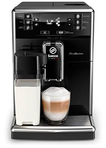 Saeco PicoBaristo SM5460/10 Kaffeevollautomat, 10 Kaffeespezialitäten...